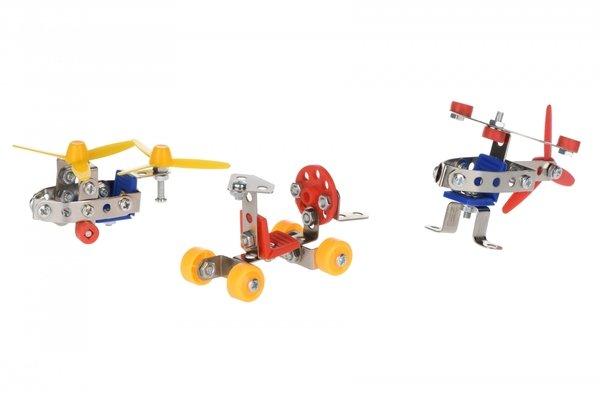 Купить Конструктор металлический Same Toy Inteligent DIY Model Car 3в1 125 элементов (58041Ut)