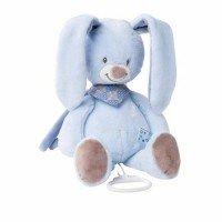 Мягкая игрушка Nattou Кролик Бибу 28см. с музыкой (321044)