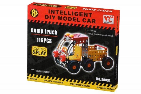 Купить Конструктор металлический Same Toy Inteligent DIY Model Car Самосвал 116 элементов (58031Ut)