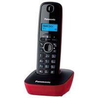 Телефон Dect Panasonic KX-TG1611UAR Black Red