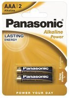 Батарейка Panasonic ALKALINE POWER AA BLI 2 (LR6REB/2BP)