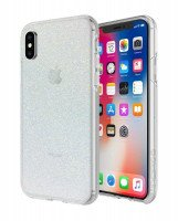 Чехол Incipio для iPhone X Design Series - Classic for Princess Peach - Iridescent White Glitter