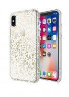 Чехол Incipio для iPhone X Design Series - Classic for Princess Peach - Cosmic Metallic