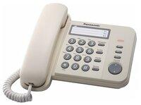 Телефон шнуровий Panasonic KX-TS2352UAJ Beige