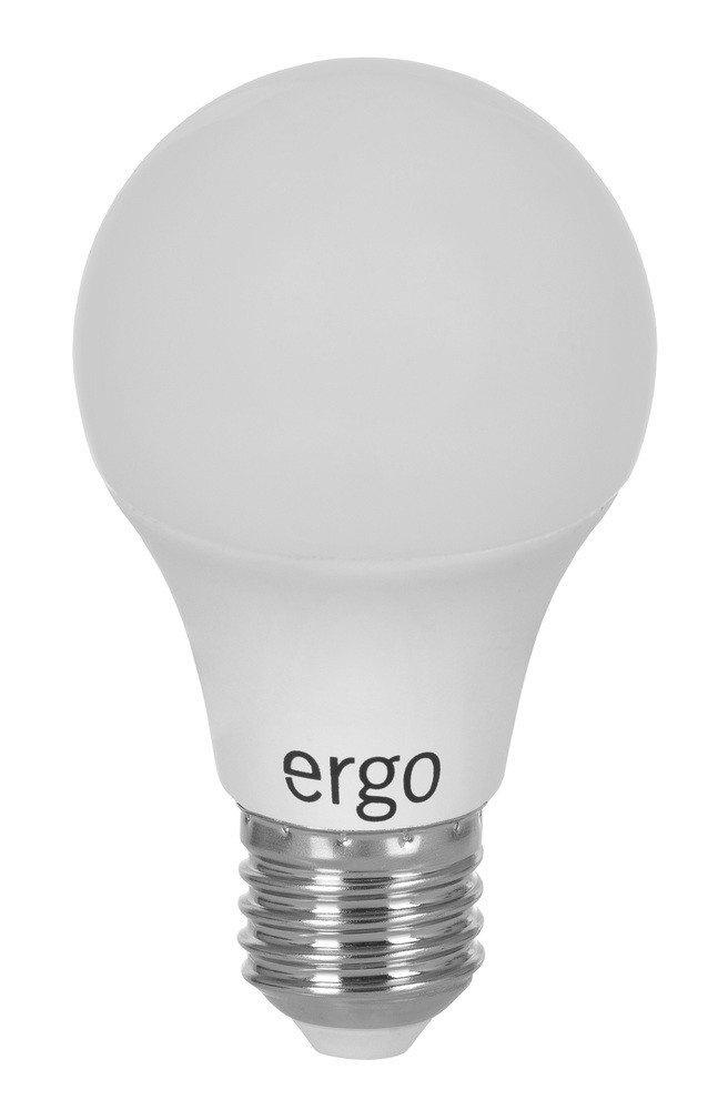 Світлодіодна лампа ERGO Standard A60 E27 8W 220V 3000K (LSTA60E278AWFN) фото1