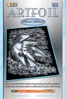 Набор для творчества Sequin Art ARTFOIL SILVER Dolphin (SA0608)