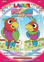 Набор для творчества Sequin Art LASER Parrots (SA1319)