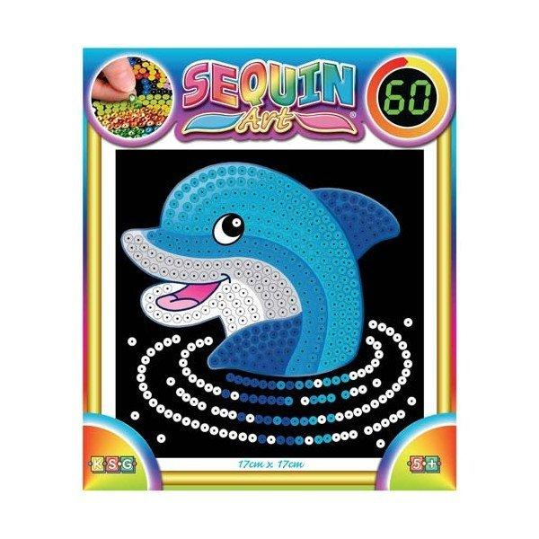 Набор для творчества Sequin Art 60 Dolphin (SA1327)