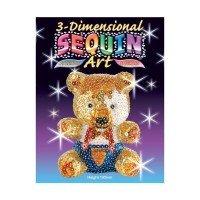 Набор для творчества Sequin Art 3D Teddy (SA0502)