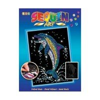 Набор для творчества Sequin Art BLUE Dolphin (SA1516)