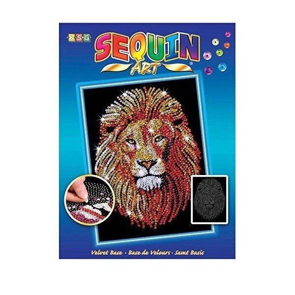 Купить Набор для творчества Sequin Art BLUE Lion (SA1207)