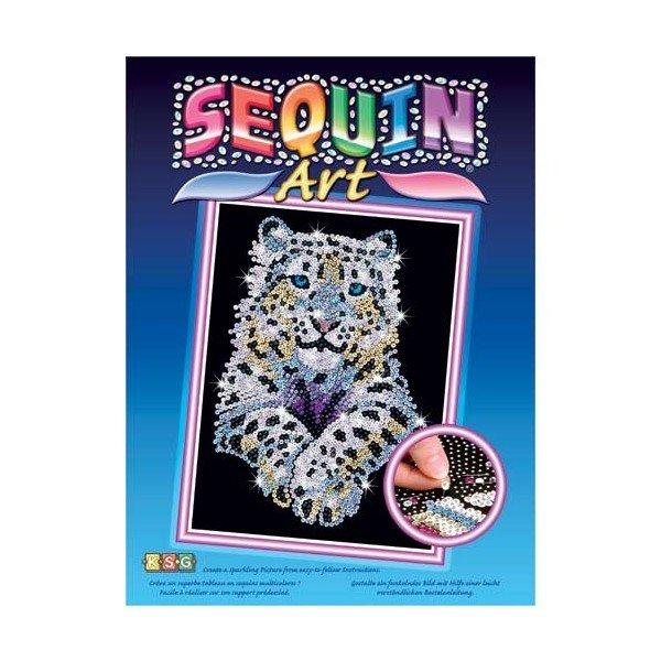 Набор для творчества Sequin Art BLUE Snow Leopard (SA1404)  - купить со скидкой