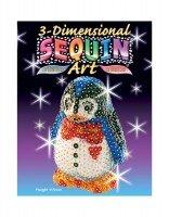 Набор для творчества Sequin Art 3D Penguin (SA0503)