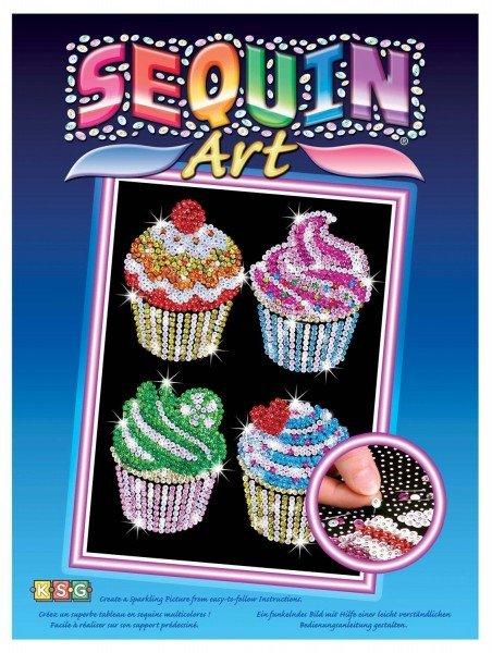 Купить Набор для творчества Sequin Art BLUE Cupcakes (SA1130)