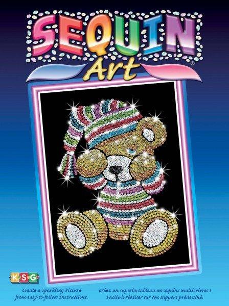 Купить Набор для творчества Sequin Art BLUE Teddy (SA0616)