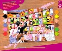 Набор для творчества Sequin Art PAINTING BY NUMBERS SENIOR Sweet Shoppe (SA1520)