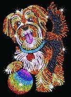 Набор для творчества Sequin Art BLUE Puppy (SA1218)