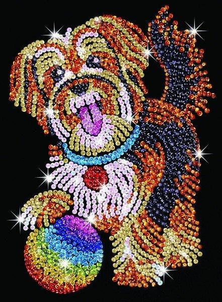 Купить Набор для творчества Sequin Art BLUE Puppy (SA1218)