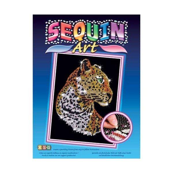 Купить Набор для творчества Sequin Art BLUE Leopard (SA1208)