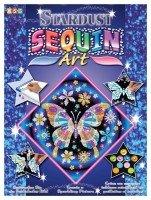 Набор для творчества Sequin Art STARDUST Butterfly (SA1012)