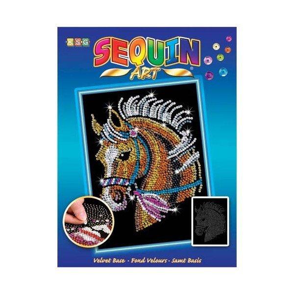 Купить Набор для творчества Sequin Art BLUE Horse (SA1517)