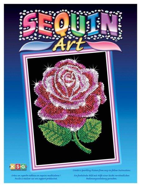 Купить Набор для творчества Sequin Art BLUE Red Rose (SA1001)