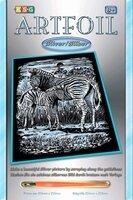 Набор для творчества Sequin Art ARTFOIL SILVER Zebra and Foal (SA1018)