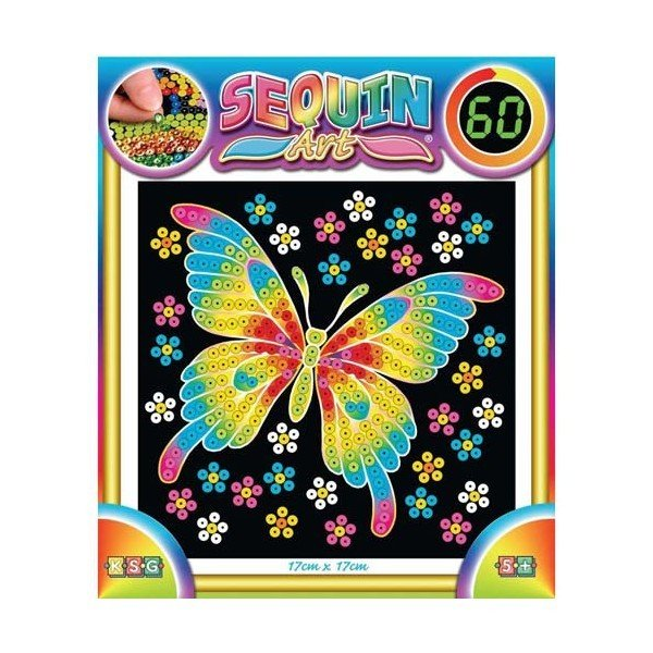 Набор для творчества Sequin Art 60 Butterfly (SA1325)