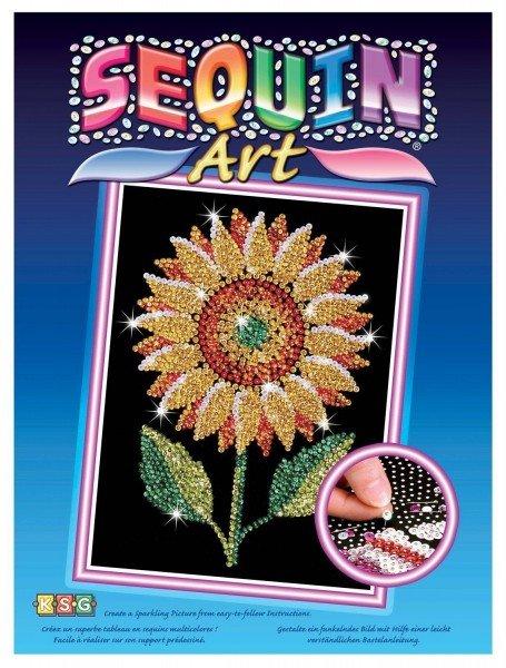 Купить Набор для творчества Sequin Art BLUE Sunflower (SA1216)