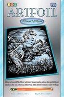 Набор для творчества Sequin Art ARTFOIL SILVER Stallion (SA1033)
