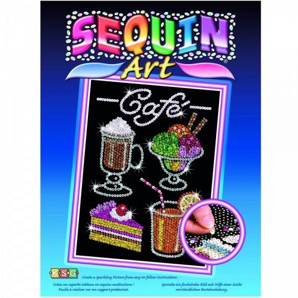 Набор для творчества Sequin Art BLUE Cafe (SA1424)