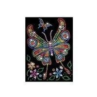 Набор для творчества Sequin Art RED Amber Butterfly (SA1209)