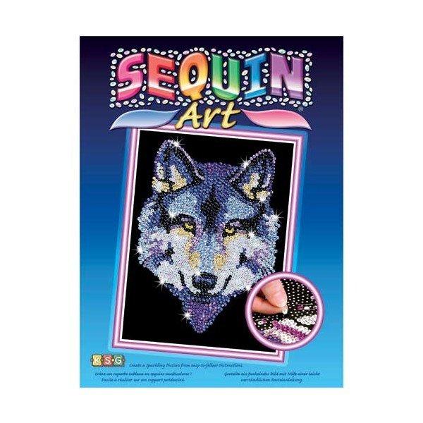 Купить Набор для творчества Sequin Art BLUE Wolf (SA1215)