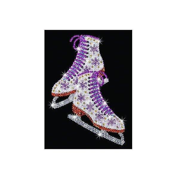 Купить Набор для творчества Sequin Art BLUE Ice Skates (SA1306)