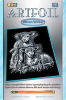 Набор для творчества Sequin Art ARTFOIL SILVER Lambs (SA0538)