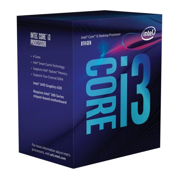 Купить Процессоры, Процессор Intel Core i3-8100 3.6GHz/8GT/s/6MB (BX80684I38100) s1151 BOX