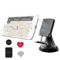 Автодержатель Macally (MGRIPMAG) Suction Cup Holder for All Portable Devices in Vehicle Black
