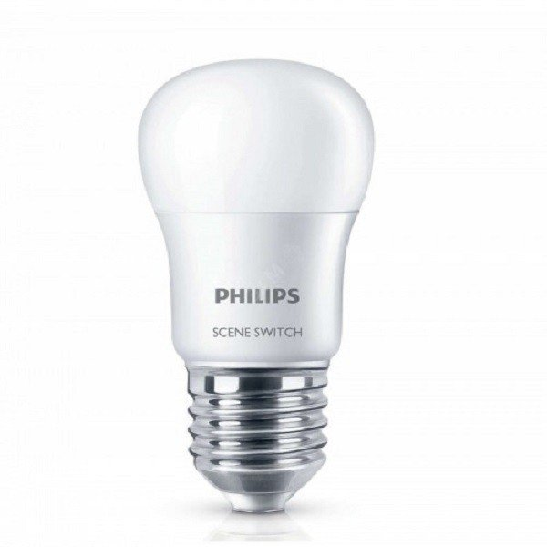Лампа светодиодная Philips Scene Switch E27 2S 6.5-60W 2S 6500K 230V P45 (929001209007) фото 1