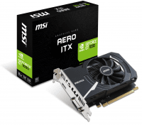 Відеокарта MSI GeForce GT 1030 2GB GDDR5 AERO ITX OC (GT 1030 AERO ITX 2G OC)