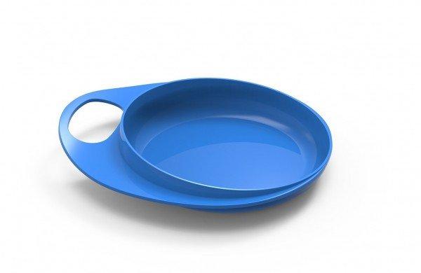 Тарелка для кормления Nuvita Easy Eating мелкая 2шт. Синяя (NV8451Blue)