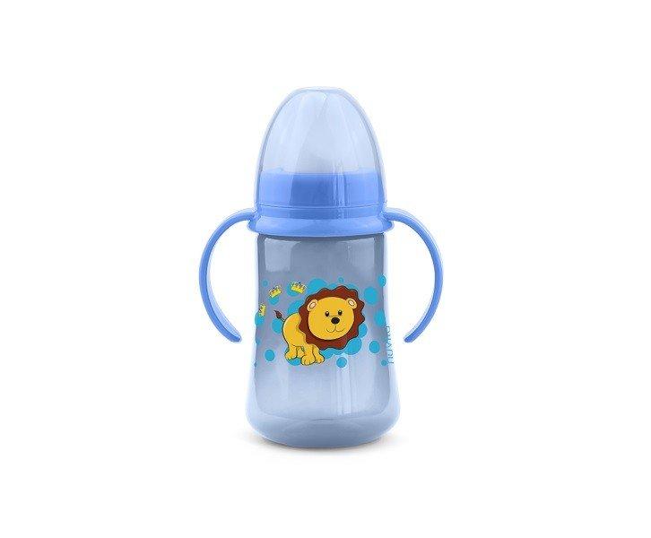 Тренировочная чашка Nuvita 6м+ 250мл. С мягким носиком Синяя (NV1440Blue) фото 1
