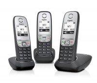 Телефон Dect Gigaset A415 TRIO Black