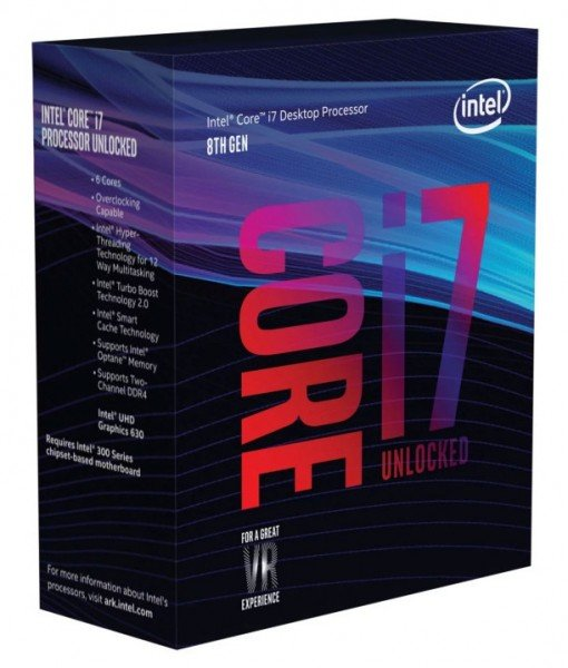 Купить Процессоры, Процессор Intel Core i7-8700K 3.7GHz/8GT/s/12MB (BX80684I78700K) s1151 BOX
