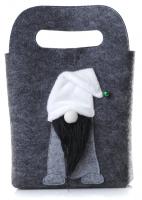 Сумочка для подарков Gift Bag Gray