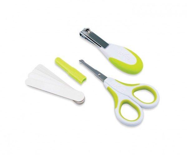 Купить Набор по уходу за ребенком Nuvita 0м+ Салатовый Безопасные ножнички с акс. NV1138Lime