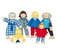 Набор кукол goki Городская семья (SO218G)