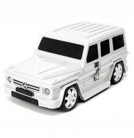 Чемодан машинка RIDAZ MERCEDES-BENZ G-CLASS White (91009W-WHITE)