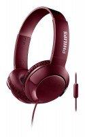 Наушники Philips SHL3075RD mic Red