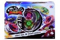 Волчок с пусковым устройством Auldey Infinity Nado Серия Сплит Night Owl та Razer Orochi (YW624604 )