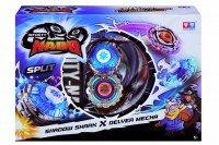 Волчок с пусковым устройством Auldey Infinity Nado Серия Сплит Shadow Shark та Delver Mec (YW624602 )